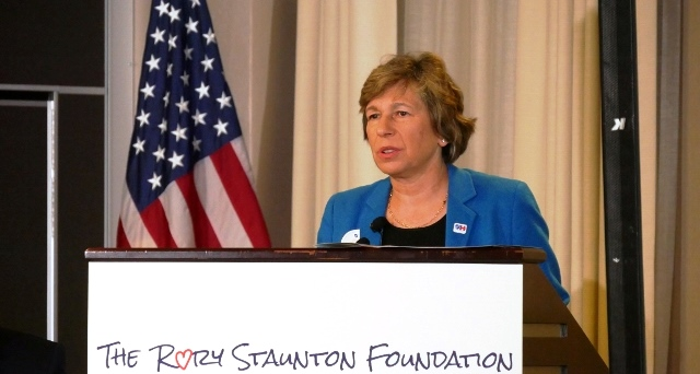 Randi Weingarten at sepsis awareness event